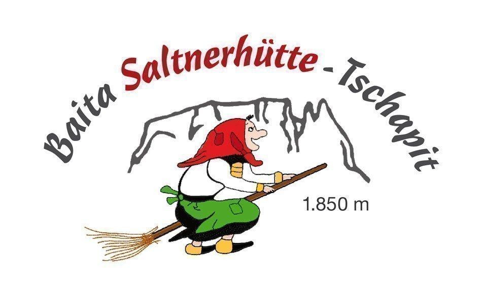 Die Saltnerhütte in Tschapit auf der Seiser Alm