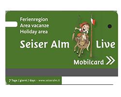 Mobilcard Seiser Alm