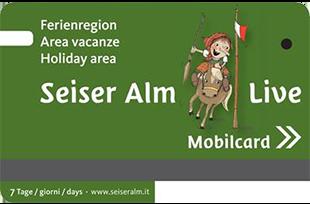 Mobilcard - Ferienregion Seiser Alm Live