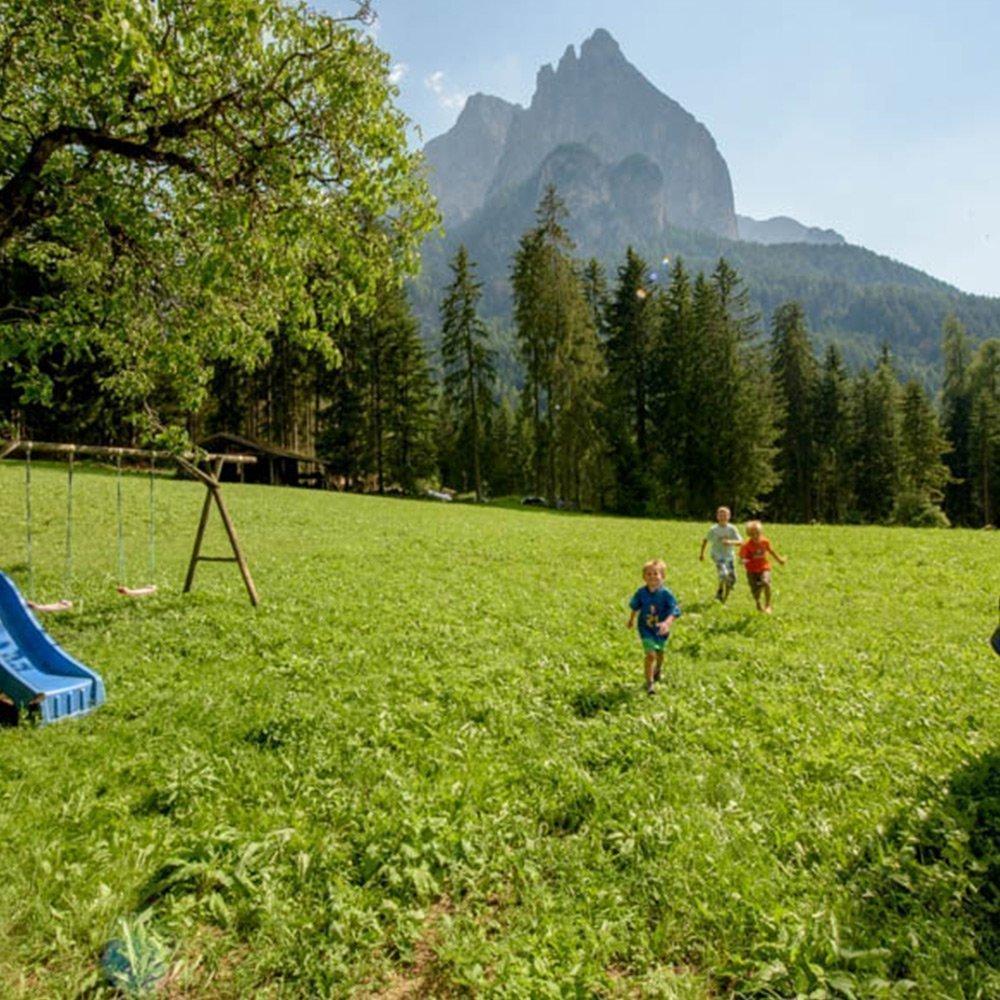 Kinderferien auf dem Bauernhof im Schlerngebiet – Südtirol