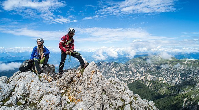 Wandern und Klettern