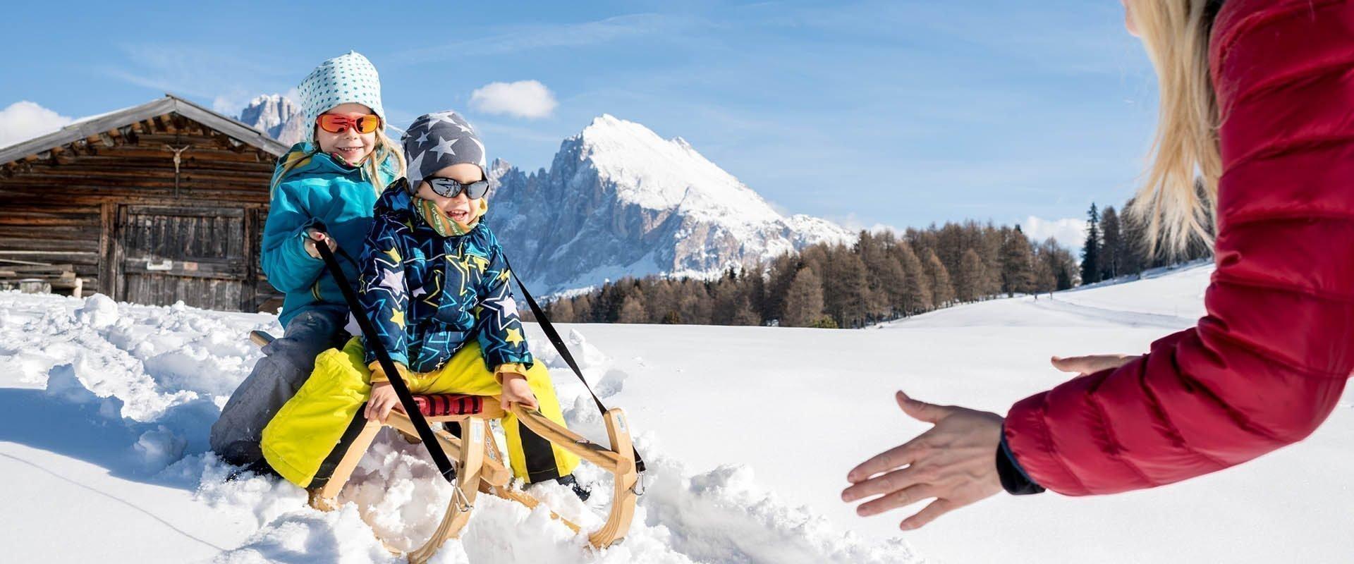 Winterurlaub auf der Seiser Alm